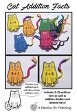 Pipe Cleaner Cat Addition Facts (0-10, Doubles, Rainbow Facts)