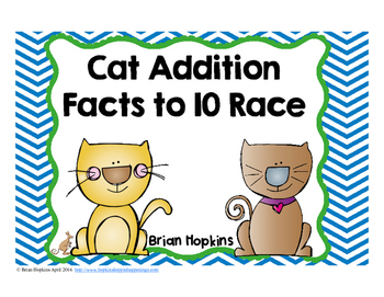 Cat Addition Facts Race