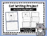 Cat Art & Writing Project - Letter Cc Bulletin Board - Pet Report