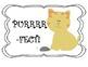 Cat Behavior Clip Chart