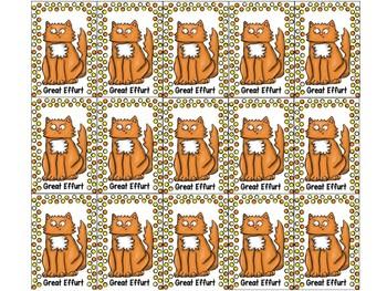 Cat Brag Tags