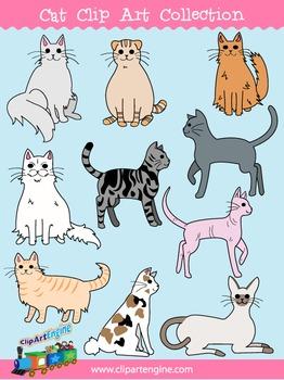 Cat Clip Art Collection