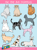 Cat Clip Art Collection