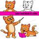 Cat Clip Art Set (Small)