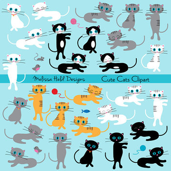 Cute Cats Clipart