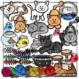 Cat Clipart Bundle