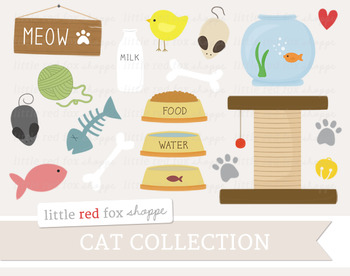 Cat Clipart; Pet, Kitty