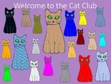 Cat Club Clip Art