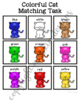 Cat Color Matching Folder Game for Early Childhood Special Education