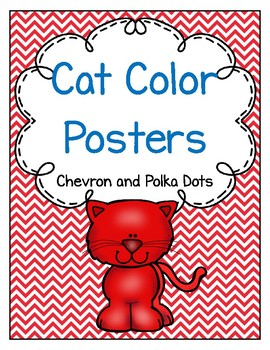 Cat Color Posters