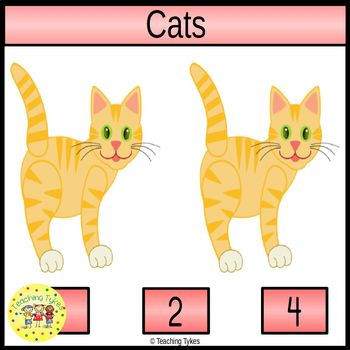 Cats Clip Task Cards