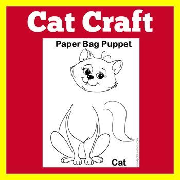 Cat Kitten Craft Worksheet