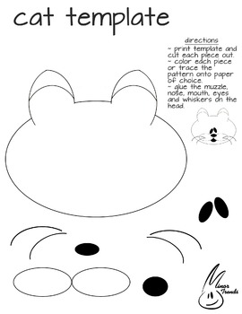 Cat Cutout Template