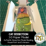 Cat Dissection - 3-D Paper Anatomy Model - Science Interac