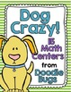 Cat & Dog Crazy BUNDLE! 15 Math Centers - Numbers, Clocks, Money, Facts & More!