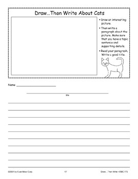 Cat (Draw Then Write)