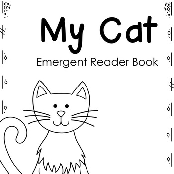 Cat Emergent Reader Book