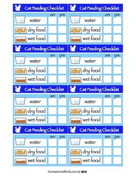 Cat Feeding Reminder for Kids