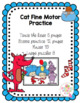 Cat Fine Motor Practice