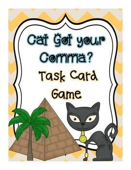 Cat Got Your Comma?: Task Card Game