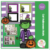 Cat Halloween Mats for Preschool