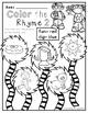 Cat, Hat, Mat- no prep rhyming worksheets *FREE*