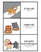 Cat Idioms: Concentration Card Game