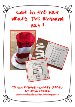 Cat In The Hat Rhyming Sheets!