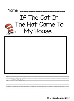If The Cat In The Hat Came To My House I would....