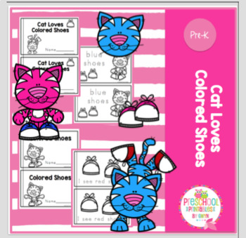 Cat Loves Colored Shoes-Little Books