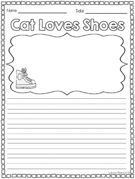 Cat Loves Shoes Writing Center