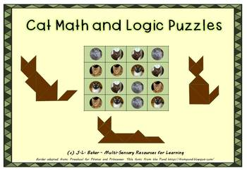 Cat Pack: Visual Maths & Logic Puzzles for Middle and Upper Primary