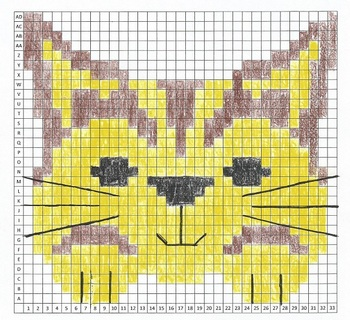 Cat Mystery Graph Art