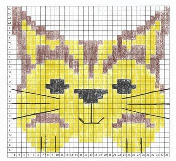 Cat Mystery Graph Art