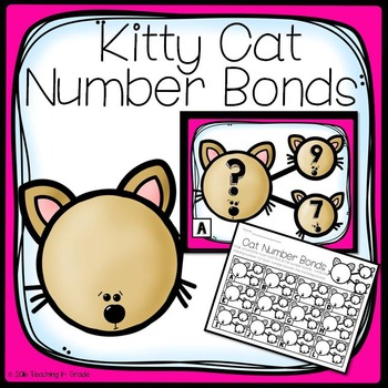 Cat Number Bonds- Write the Room