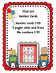 Cat Number Cards 1-25