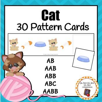 Patterns: Pet Cat Pattern Cards