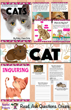 All About Cats Nonfiction Unit