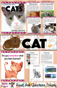 All About Cats Nonfiction Unit