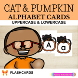 Cat & Pumpkin Alphabet Cards