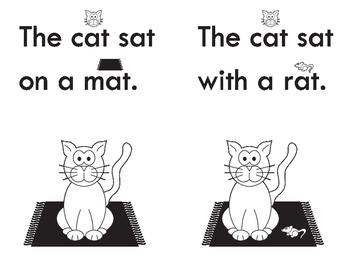 Cat Sight Word & Rhyme Beginner Book