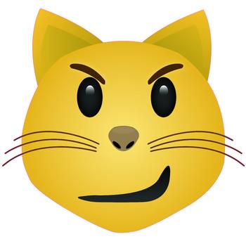 Cat Smirk Emoji