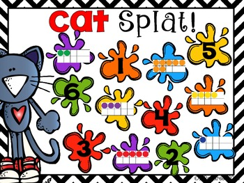 Cat Splat! A Number Game