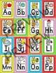 Cat Theme Classroom Alphabet Posters