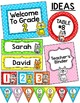 Cat Theme Classroom Labels and Templates