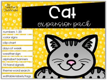 Cat Theme Decor {Expansion Pack}