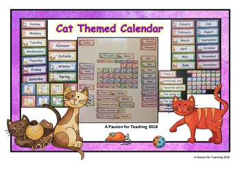 Cat Themed Calendar