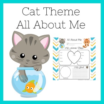 Cat Themed Classroom | Cat Theme All About Me