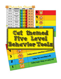 Cat Themed - Five Point Behavior Level Tools and Chart