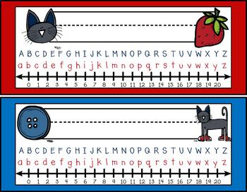 Groovy Cat Nameplates